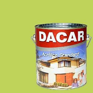 Tinta Acrilico Latex Standar Dacar 3,6 L Verde Tropical