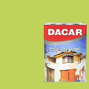 Tinta Acrilico Latex Standar Dacar 18 L Verde Tropical