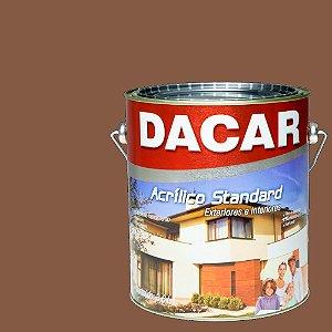 Tinta Acrilico Latex Standar Dacar 3,6 L Chocolate Suiço