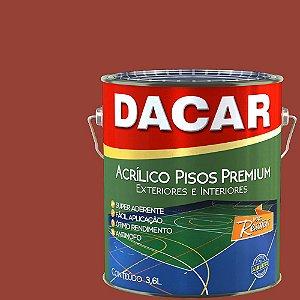 Tinta Piso Premium Dacar Vermelho 3,6 Lts