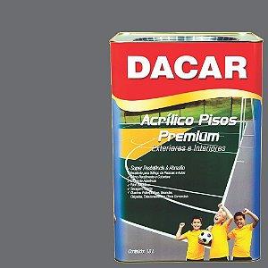 Tinta Piso Premium Dacar C: Cinza Chumbo 18 Lts Especial Fec