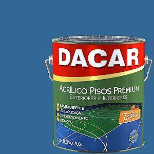 Tinta Piso Premium Dacar Azul 3,6 Lts