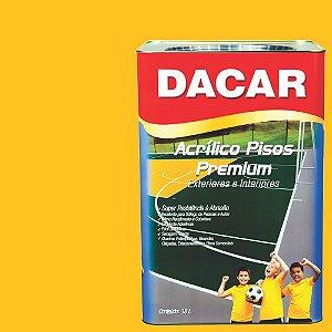 Tinta Piso Premium Dacar Amarelo Demarcação 18 Lts
