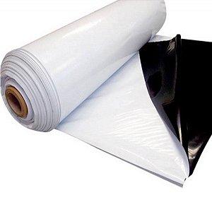 Lona Dupla Face Preto E Branca 6 X 100 Ref 60 Negreira