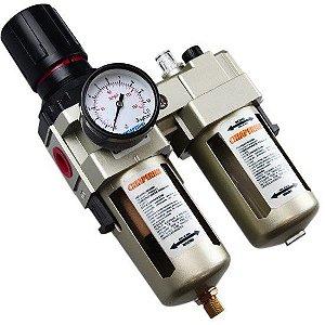 Filtro Regulador De Ar  Com Lubrificador 1/2  Cl2 Pressure