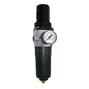 Filtro Regulador De Ar 1/2  Pint. Frp2 Pressure - Cód. 12701
