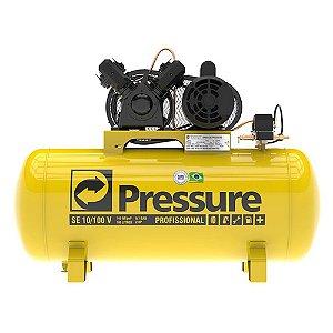 Compressor De Ar Pressure 100 Litros 10 Pés Se10/100 Bivolt