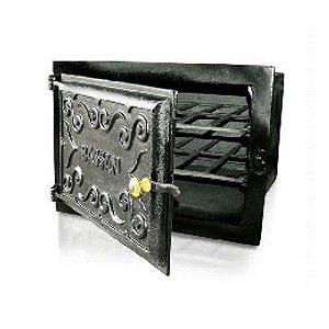 Forno Fogão Lenha De Ferro Fundido Sem Cinzeiro 33x46x50cm G