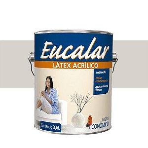 Tinta Acrílica 3,6 Litros Interno Eucalar Latex Gelo