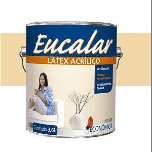 Tinta Acrílica 3,6 Litros Interno Eucalar Latex Vanilla