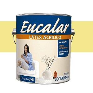 Tinta Acrílica 3,6 Litros Int. Eucalar Latex Amarelo Canário