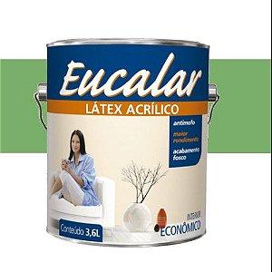 Tinta Acrílica 3,6 Litros Int. Eucalar Latex Verde Piscina
