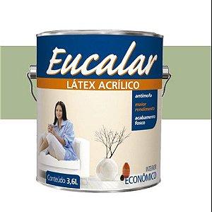 Tinta Acrílica 3,6 Litros Interno Eucalar Latex Floresta