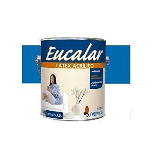 Tinta Acrílica 3,6 Litros Int. Eucalar Latex Azul Navegante