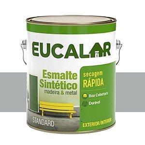 Tinta Esmalte Sintético Eucalar Platina 3,6 L Eucatex