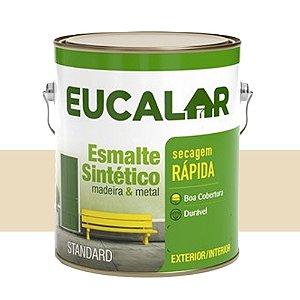 Tinta Esmalte Sintético Eucalar Areia 900 Ml Eucatex