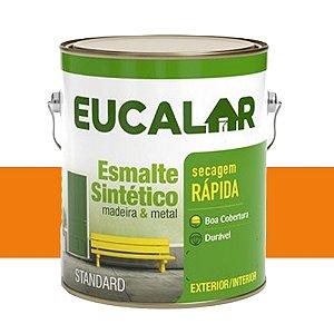 Tinta Esmalte Sintético Eucalar Laranja 3,6 L Eucatex