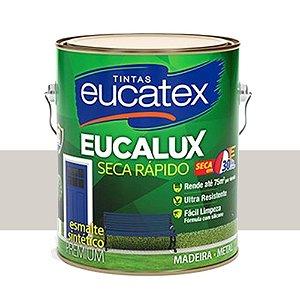 Tinta Eucalux Esmalte Premium Gelo 900 Ml Eucatex