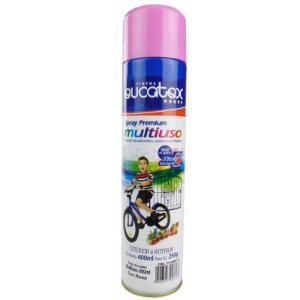 Tinta Spray Multiuso Cor Rosa Brilhante 400ml Eucatex