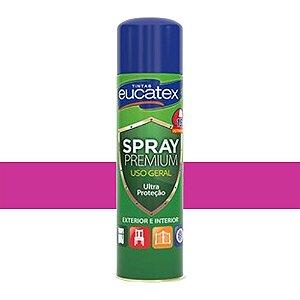Tinta Spray Luminosa Cor Pink 400ml Eucatex