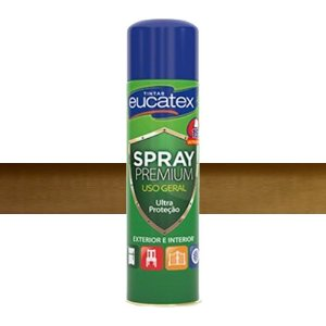 Tinta Spray Metalizado Cor Cobre 400ml Eucatex
