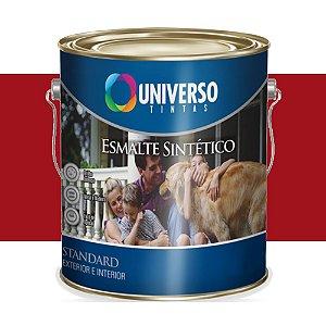 Tinta Universo Esmalte Sintetico Stand Vermelho 900ml