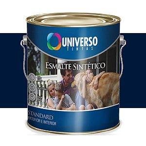Tinta Universo Esmalte Sintetico Stand Azul Del Rey 900ml