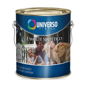 Tinta Universo Esmalte Sintetico Stand Branco 225ml