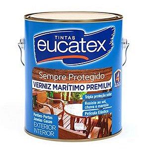 Verniz Marítmo Brilhante Eucatex 3,6 Lts