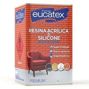 Resina Acrílica Base Solvente Premium Eucatex 900 Ml