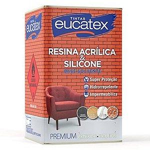 Resina Acrílica Base Solvente Premium Eucatex 5 Lts