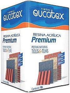 Resina Acrilica Base Solvente Premium Eucatex 18 Lts