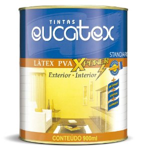 TINTA EUCATEX LATEX PVA BRANCO - 0,9 LT