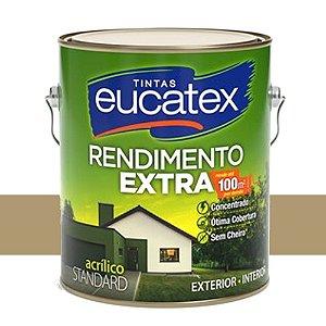 Tinta Acrílico Rendimento Extra Camurça 3,6l Eucatex