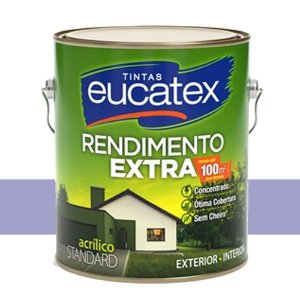 Tinta Acrílico Rendimento Extra Violeta 3,6l Eucatex