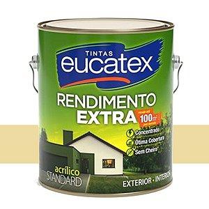 Tinta Acrílico Rendimento Extra Marfim 18 Lts Eucatex