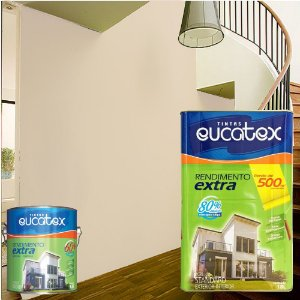 Tinta Acrílico Rendimento Extra Lilas Suave 3,6l Eucatex