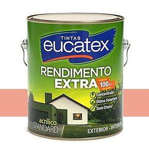 Tinta Acrílico Rendimento Extra Flamingo 3,6 Lts Eucatex