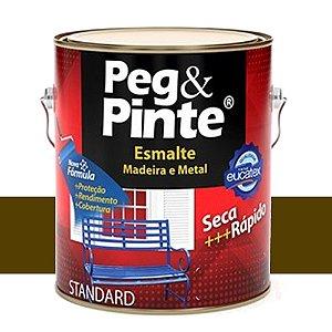 Tinta Esmalte Sint Peg & Pinte Marrom 0,9 L Eucatex