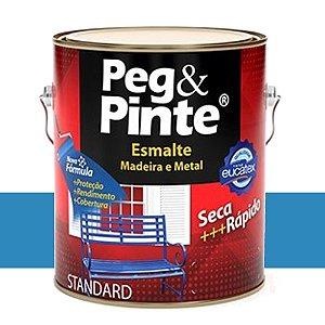 Tinta Esmalte Sint Peg & Pinte Azul Mar 0,9 L Eucatex