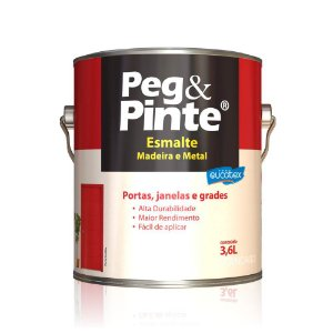 Tinta Esmalte Sint Peg & Pinte Azul Franca 3,6 L Eucatex