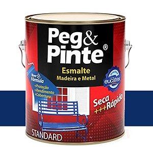 Tinta Esmalte Sint Peg & Pinte Azul Del Rey 0,9 L Eucatex