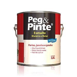 Tinta Esmalte Sint Peg & Pinte Cinza Medio 3,6 L Eucatex
