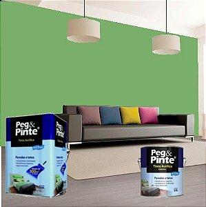 Tinta Acrílica Eucatex Peg&pinte 3,6 Litros Verde Piscina