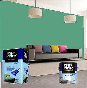 Tinta Acrílica Eucatex Peg&pinte 3,6 Litros Verde