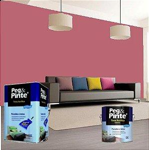 Tinta Acrílica Eucatex Peg&pinte 3,6 Litros Rosa Açaí