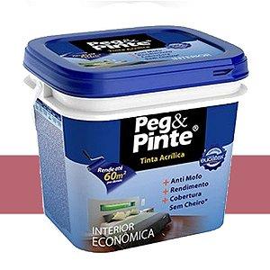 Tinta Acrílica Eucatex Peg&pinte 18 Litros Rosa Açaí