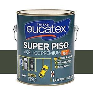 Tinta Super Piso Acrílico Premium Eucatex 3,6 L Cinza Escuro