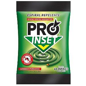 REPELENTE ESPIRAL PRO INSET ( PACOTE C/ 10UND) - 021.0143