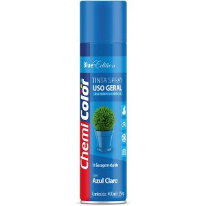 TINTA SPRAY CHEMICOLOR 400 ML U.G. - AZUL CLARO 0680090